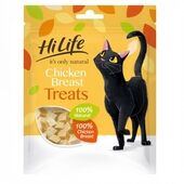 HiLife it's only natural Chicken Breast Cat Treats Big 30g Bag