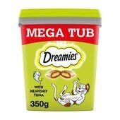 Dreamies Adult 1+ Cat Treats with Tuna Tub 350g