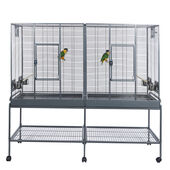 Sky Pet Products Double Flight Cage