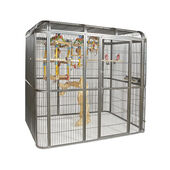 Sky Pet Products Parrot Aviary