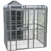 Sky Pet Products Parrot Aviary and House Antique