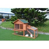 Sky Pet Products Sandown Two Level Hutch