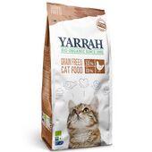 Yarrah Organic Cat Grain Free Chicken & Fish With 32% Protein & 13% Fat 800g