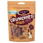 Good Boy Crunchies Mini Duck Dog Treats 60g