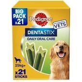 Pedigree Dentastix Fresh Daily Large Dog Dental Treats 21 Sticks 810g