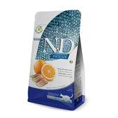N&D Natural & Delicious Cat Food Ocean Herring & Orange