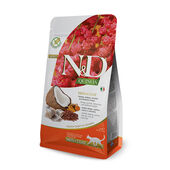 N&D Natural & Delicious Cat Quinoa Skin & Coat Herring