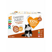 Webbox Cat Delights Pouches Gravy Selection 100g