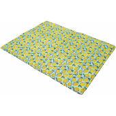 Rosewood Lemon Print Rectangular Dog Cool Mat