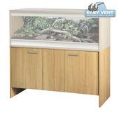 Vivexotic Vivarium Cabinet Large Deep Oak