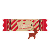 Rosewood Reindeer Xmas Cracker Treats Gift For Dogs 150G