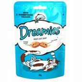 8 x 60g Dreamies Cat Treats With Salmon