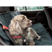 Danish Design Dog Car Seat Cover Charcoal Grey 140cm x115cm