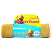 3 x Snugglesafe Micro Fibre Big Dog Towel Brown 140x76cm (55x30
