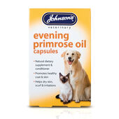 Johnson\'s Dog & Cat Evening Primrose Oil 60\'s