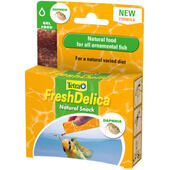 16 x Tetra Fresh Delica Daphnia Fish Snacks 3g