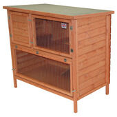 Goodspeed Flat Pack Double Decker Log Lap Hutch 122x61x61cm (48x24x24