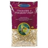 Johnston & Jeff Cockatiel & Parakeet Mix 3kg
