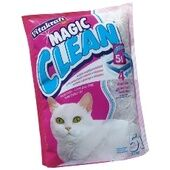 6 x Vitakraft Magic Clean Cat Litter - Silicone 5ltr