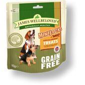James Wellbeloved Grain Free Minijacks Turkey Dog Treats - 90g