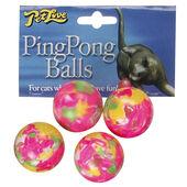6 x Petlove Ping Pong Balls 4pack