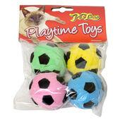6 x Petlove Sponge Footballs 4pack
