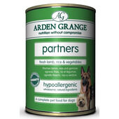 24 x 395g Arden Grange Partners Fresh Lamb, Rice & Vegetables Wet Dog Food