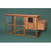 The Hutch Company Flat Packed Chicken Coop- 180x85x102cm