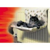 Danish Design Sherpa Fleece Kumfy Kradle Cat Radiator Bed