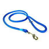 KJK Ropeworks Braided Clip Lead Blue 8mm X 120cm