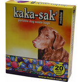 Kaka-sak Mobile Up Portable Bag In Mini Plastic Holder For Pocket Box Of 20