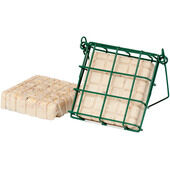 C J Wildlife Peanut Cake Feeder Mesh Green