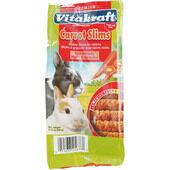 7 x Vitakraft Carrot Slims For Rabbits 50g