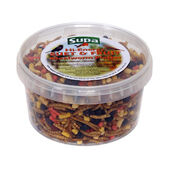 4 x Supa Hi Energy Suet & Fruit Mealworm Platter 500ml