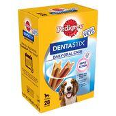 Pedigree Dentastix Daily Oral Care Medium Breed Dog Treats (28 Sticks)