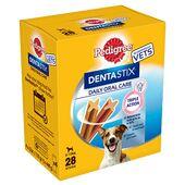 Pedigree Dentastix Daily Oral Care Small Breed Dog Treats (28 Sticks)