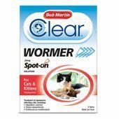 Bob Martin Clear Spot On Wormer - Cats & Kittens