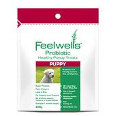 6 x Feelwells Probiotic Healthy Treats Super Premium Puppy Lamb & Rice 200g