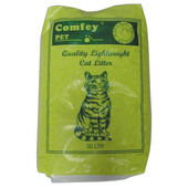 Comfey Pet Quality Lightweight Non-Clumping Cat Litter - 30L