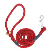 Outhwaites Gun Dog Rope Lead Red 100cm X 12mm