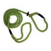 Outhwaites Gun Dog Rope Slip Lead Olive Green