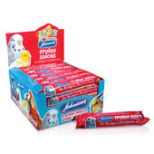 28 x Johnson's Treat2eat Budgie Fruity Stick 45g
