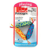 Petstages Three Ring Play