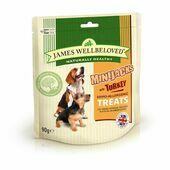 James Wellbeloved Dog Minijacks Treats Turkey 90g