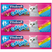 20 x Vitakraft Cat Stick Mini Salmon & Trout 3 Pack