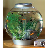 Biorb 30 Classic Tropical Aquarium Standard LED Silver