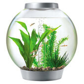 Baby Biorb Aquarium Standard LED Silver Ltr 15