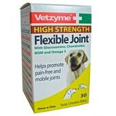 Vetzyme Dog High Strength Flexible Joint Tablets 30 Tablets