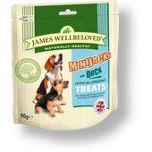 James Wellbeloved Dog Minijacks Treats Duck 90g
