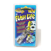 Pet Brands Flash Lite Night Life Hanging Safety Flashing Dog Tag
